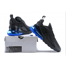 Nike Air Max 270 Men Shoes Black Blue Wholesale