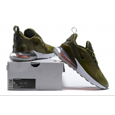 Nike Air Max 270 Men Shoes Green Grey Outlet