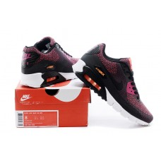 NIKE AIR MAX 90 MEN RUNNING SHOES BLACK PINK ORANGE WHOLESALE