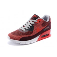 NIKE AIR MAX 90 MEN RUNNING SHOES BURGUNDY RED WHOLESALE