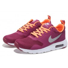 NIKE AIR MAX THEA PRINT 2 WOMEN RUNNING SHOES BURGUNDY ORANGE OUTLET SALE
