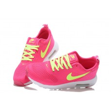 NIKE AIR MAX THEA PRINT 2 WOMEN RUNNING SHOES PEACH FLUORESCENT GREEN WHOLESALE
