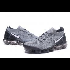 Cheap Nike Air Vapormax Flyknit 2.0 Men Shoes Grey Outlet