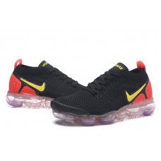 Nike Air Vapormax Flyknit 2.0 Women Shoes Black Red Outlet