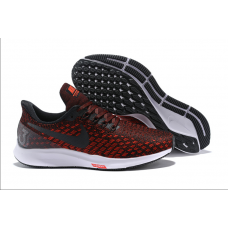 Nike Air Zoom Pegasus 35 Men Shoes Black Orange Wholesale