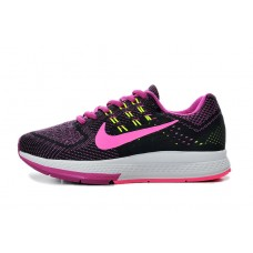 NIKE AIR ZOOM STRUCTURE 18 WOMEN RUNNING SHOES BLACK PURPLE OUTLET SALE