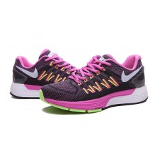 NIKE AIR ZOOM STRUCTURE 20 WOMEN RUNNING SHOES PURPLE BLACK FLUORESCENT GREEN SALE
