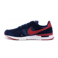 NIKE ARCHIVE 83-M RUNNING SHOES DEEP BLUE RED OUTLET SALE
