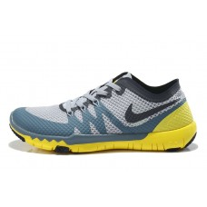 NIKE FREE 3.0 V3 FLYWIRE MEN RUNNING SHOES BLACK GRAY YELLOW WHOLESALE