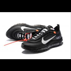 Cheap Nike Off White Men Shoes Black White