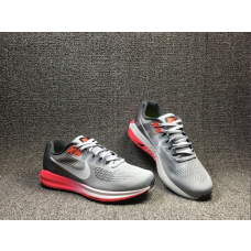 Outlet Nike Air Zoom Structure 21 Women Shoes Grey Pink