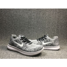 Cheap Nike Free Run Flyknit 2017 Men Shoes Grey