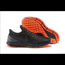 Cheap Nike Air Zoom Pegasus 35 Men Shoes Black Orange