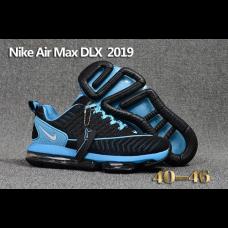 Replica Nike Air Max DLX 2019 Men Shoes Blue Black