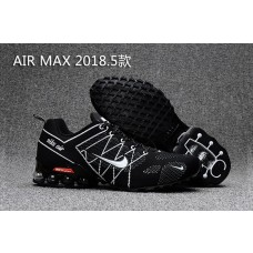 USA Nike Air Max 2018 Men Shoes Black White Cheap