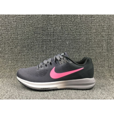 USA Nike Air Zoom Structure 21 Men Shoes Black Cheap