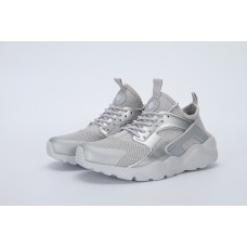 WHOLESALE NIKE AIR HUARACHE IV 4 MEN RUNNING SHOES SILVER