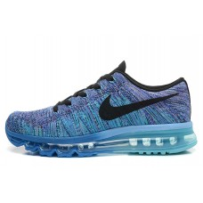 WHOLESALE NIKE AIR MAX 2014 MEN RUNNING SHOES PURPLE BLUE BLACK