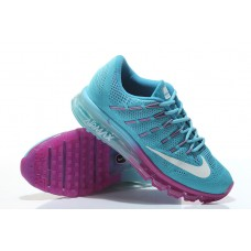 WHOLESALE NIKE AIR MAX 2016 WOMEN RUNNING SHOES BLUE PURPLE