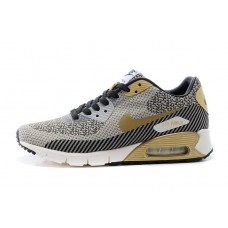 WHOLESALE NIKE AIR MAX 90 MEN RUNNING SHOES GOLD GREY