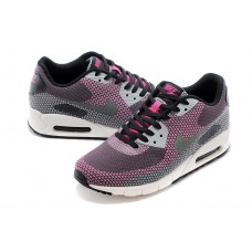 WHOLESALE NIKE AIR MAX 90 MEN RUNNING SHOES MAGENTA BLACK GRAY