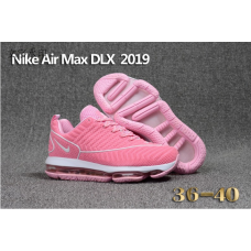 Wholesale Nike Air Max DLX 2019 Women Shoes Pink