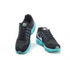 WHOLESALE NIKE AIR MAX TAILWIND 8 MEN RUNNING SHOES BLACK BLUE