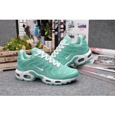 Wholesale Nike Air Max TN Men Shoes White Green