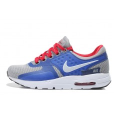 WHOLESALE NIKE AIR MAX ZERO WOMEN RUNNING SHOES RED BLUE GRAY