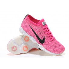 WHOLESALE NIKE AIR ZOOM FIT AGILITY FLYKNIT WOMEN RUNNING SHOES PINK BLACK