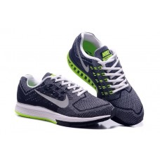 WHOLESALE NIKE AIR ZOOM STRUCTURE 18 WOMEN RUNNING SHOES BLACK GRAY FLUORESCENT GREEN