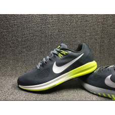 Wholesale Nike Air Zoom Structure 21 Men Shoes Blue Yellow