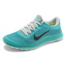 WHOLESALE NIKE FREE 3.0 V6 WOMEN RUNNING SHOES LIGHT BLUE GRAY