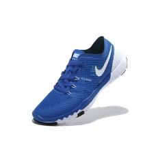 WHOLESALE NIKE FREE 3.O V3 FLYWIRE MEN RUNNING SHOES ROYAL BLUE WHITE