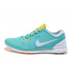 WHOLESALE NIKE FREE 5.0 V2 TRAINING WOMEN RUNNING SHOES GREEN ORANGE