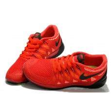WHOLESALE NIKE FREE 5.0 WOMEN RUNNING SHOES BLACK RED