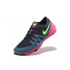 WHOLESALE NIKE FREEE 3.0 V3 FLYWIRE WOMEN RUNNING SHOES BLACK GRAY PINK FLUORESCENT GREEN