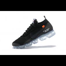 Wholesale Nike Off White Men Shoes Black Orange