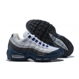 Wholesale Nike Air Max 95 Men Shoes White Blue