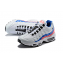 Cheap Nike Air Max 95 Women Shoes Black White Blue Outlet