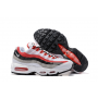 Wholesale Nike Air Max 95 Men Shoes Black White Red